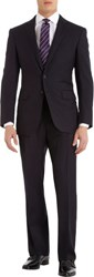Ralph Lauren Black Label Anthony Two Button Suit Blue Size 36 Regular