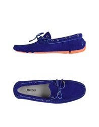 Just Cavalli Moccasins Bright Blue