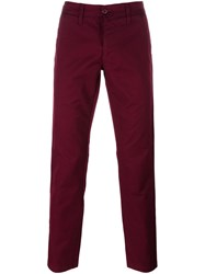 Carhartt Straight Leg Trousers Red
