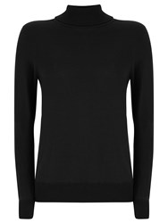 Havren Penny Roll Neck Jumper Black