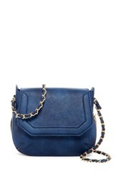 Urban Expressions Willow Faux Leather Crossbody Blue
