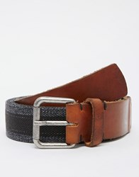 Selected Homme Stephan Belt Grey