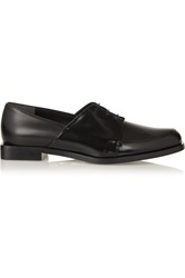 Maiyet Leather Brogues Black
