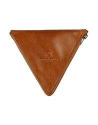 This Is Ground Coin Purses Brown