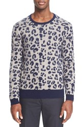 Men's Acne Studios 'Jena' Jacquard Wool And Cashmere Sweater