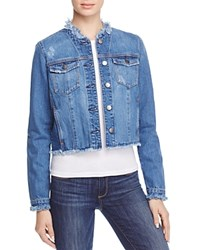 Nobody Fray Denim Jacket In Unravel Unravell