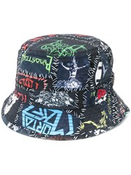 Ktz New Era Monster Bucket Hat Black
