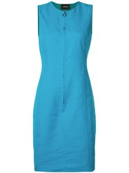 Akris Reversible Dress Blue