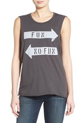 Women's Project Social T 'Fun No Fun' Graphic Tank
