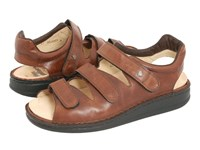 Finn Comfort Tunis 81511 Chestnut Leather Men's Shoes Brown