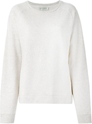 Faith Connexion Crew Neck Sweatshirt Nude And Neutrals