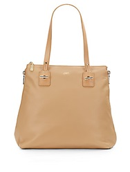 Vince Camuto Expandable Leather Tote