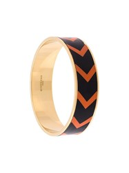 Givenchy Chevron Pattern Bracelet Metallic