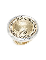 House Of Harlow Two Tone Ring Gold