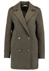 Noisy May Nmfield Short Coat Ivy Green