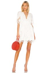 The Jetset Diaries Limelight Dress White