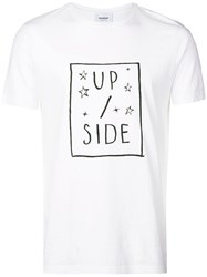 Dondup Up Side T Shirt White