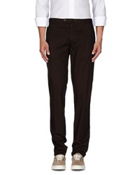 Luigi Bianchi Mantova Trousers Casual Trousers Men Dark Brown