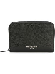 Michael Kors Coin Zip Wallet Black