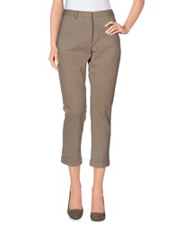 Mauro Grifoni Trousers 3 4 Length Trousers Women Dove Grey