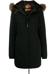 Parajumpers Hooded Padded Parka Black