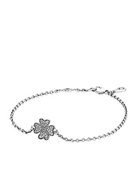 Pandora Design Pandora Bracelet Sterling Silver And Cubic Zirconia Symbol Of Lucky In Love