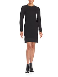 Marc By Marc Jacobs Moving Ribbed Dress Black