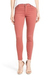 Women's Cj By Cookie Johnson 'Wisdom' Colored Stretch Ankle Skinny Jeans Burgundy