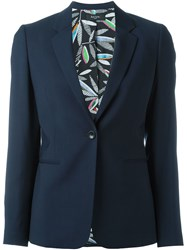 Paul Smith Black Label Single Button Blazer Blue