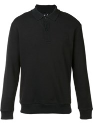 Fred Perry Raf Simons X Polo Sweatshirt Black