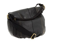 The Sak Deena Crossbody Flap Black Cross Body Handbags