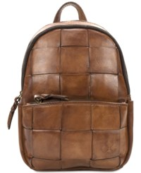 Patricia Nash Woven Jacini Backpack Brown