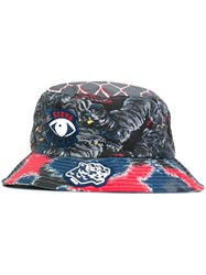 Kenzo Multi Icon Bucket Hat Multicolour