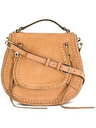 Rebecca Minkoff Saddle Crossbody Bag Brown