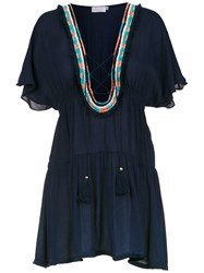 Brigitte Beach Dress Blue