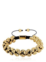 North Skull Swarm Gold Bracelet