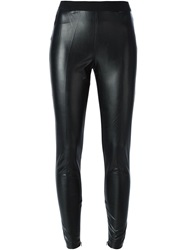 I'm Isola Marras Cuff Zip Leggings Black