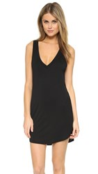 Riller And Fount Suzanne V Neck Tank Dress Obsidian