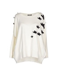 Roccobarocco Sweaters Ivory