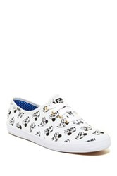 Keds Minnie Mouse Print Low Sneaker White
