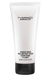 M A C Mac 'Mineralize' Charged Water Face And Body Lotion No Color
