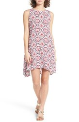 Roxy Women's Capella Print Shark Bite Hem Swing Dress