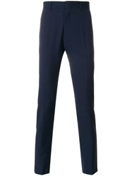 Low Brand Slim Fit Trousers Blue