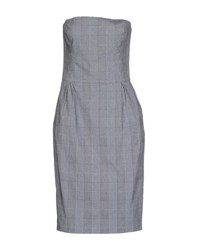 Aquascutum London Aquascutum Dresses Knee Length Dresses Women Grey