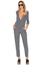 Nytt Low V Jumpsuit Charcoal