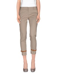 Atos Lombardini Trousers Casual Trousers Women Grey