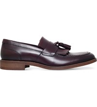 Kg By Kurt Geiger Maccio Leather Loafers Wine