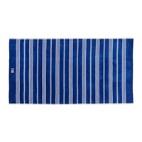 Lexington Striped Velour Beach Towel 100X180cm Blue White