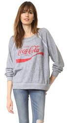 Wildfox Couture Coca Cola Sweater Vintage Lace