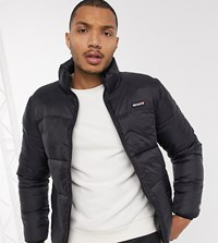 Element Primo Arctic Puffer Jacket In Black Exclusive At Asos
